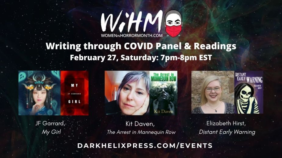 Writing through COVID-19 and Horror Readings Panel