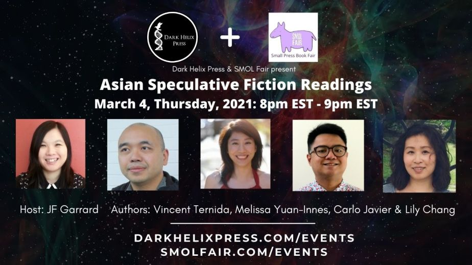 March 4 Asian Spec Fic Readings